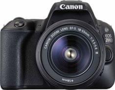 Canon EOS 200D + 18-55 EF-S DC III (2250C011AA) + Cashback 1200 Kč! + 500 Kč na fotoslužby