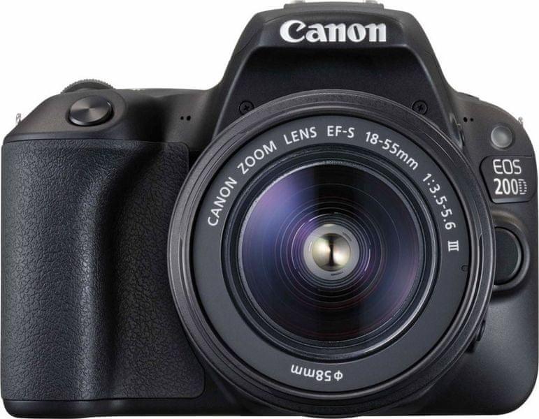 Canon EOS 200D + 18-55 EF-S DC III (2250C011AA) + 100GB na Canon Irista ZDARMA!