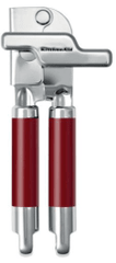 KitchenAid odpirač za konzerve, rdeč