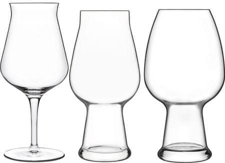 Luigi Bormioli zestaw szklanek do piwa BIRRATEQUE 6 szt
