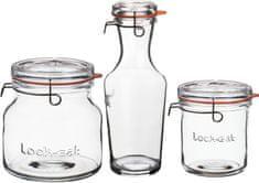 Luigi Bormioli stekleni kozarci, 3 kosi