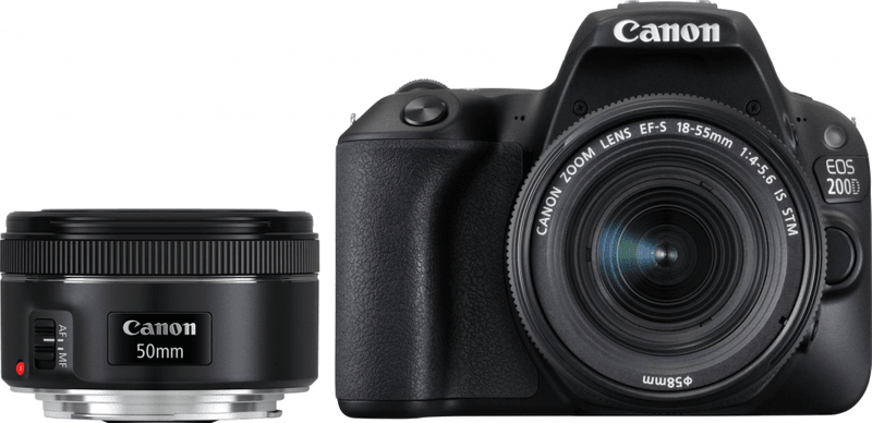 Canon EOS 200D + 18-55 IS STM + EF 50/1,8 STM (2250C022)