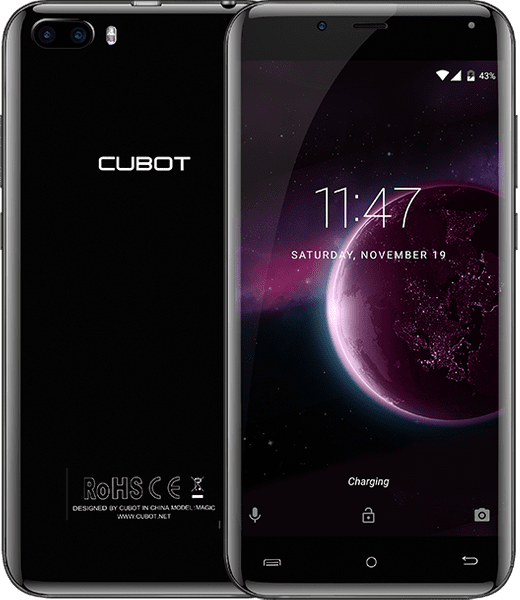 Cubot Magic 3GB/16GB, Dual SIM, Gray Black