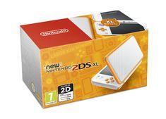 Nintendo New 2DS XL Fehér/Narancs Játékkonzol