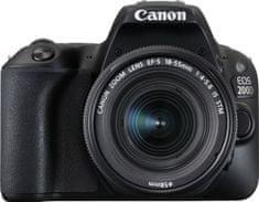 Canon EOS 200D + 18-55 IS STM + Cashback 1200 Kč! + 500 Kč na fotoslužby