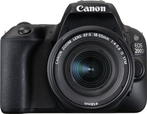 Canon EOS 200D + 18-55 IS STM Black (2250C002)