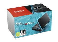 Nintendo New 2DS XL Black & Turquoise