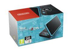 Nintendo New 2DS XL Fekete/Kék Játékkonzol