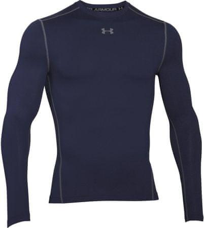 Under Armour moška športna majica z dolgimi rokavi CG Crew Midnight Navy Steel, L
