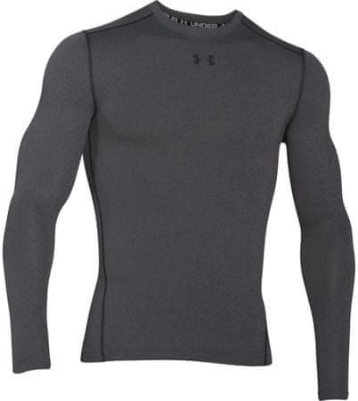Under Armour moška športna majica z dolgimi rokavi CG Crew Carbon Heather Black, XL