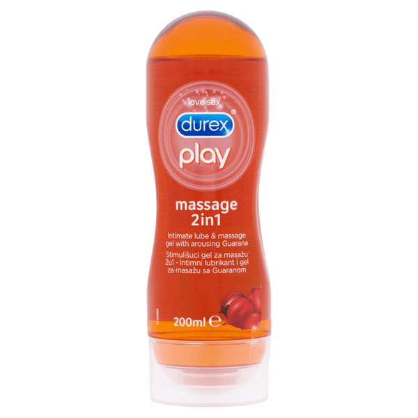 Durex Play Massage 2v1 Guarana 200 ml