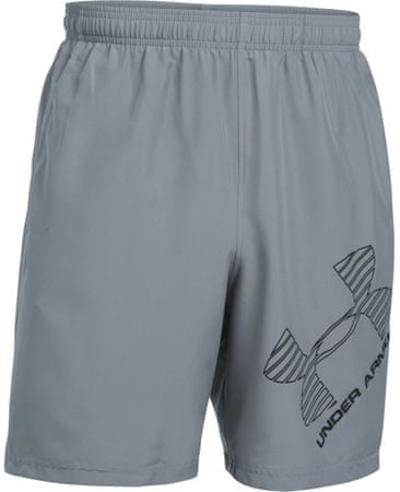 Under Armour 8 Woven Graphic Short Steel Black L