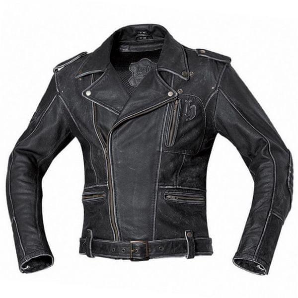 Held pánská bunda HOT ROAD vel.58 černá kůže