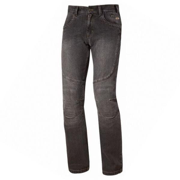 Held pánské kalhoty FAME 2 vel.34 (délka 34), textilní - jeans, černé, kevlar