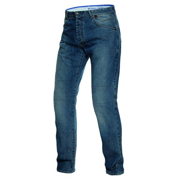 Dainese kalhoty - jeans BONNEVILLE REGULAR vel.35, denim/kevlar