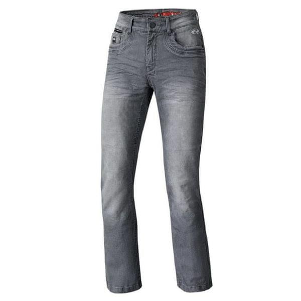Held pánské kalhoty CRANE STRETCH vel.32, textilní - jeans, antacit, Kevlar