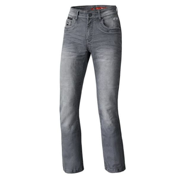 Held pánské kalhoty CRANE STRETCH vel.34, textilní - jeans, antacit, Kevlar