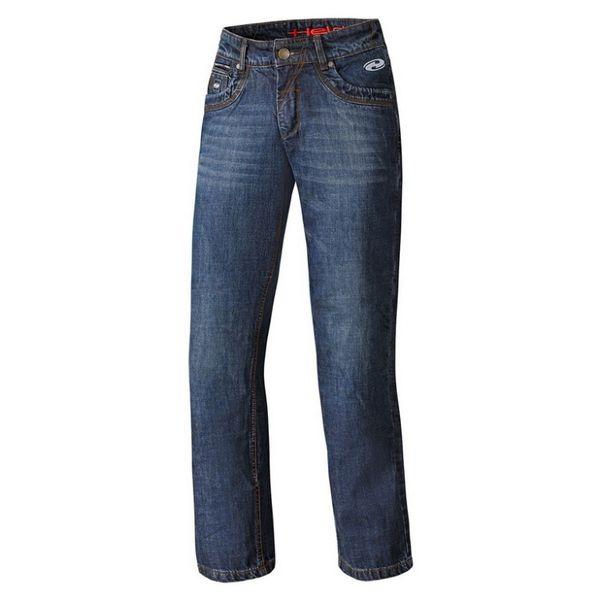 Held pánské kalhoty CRANE DENIM vel.32 modrá, textilní - jeans, Kevlar