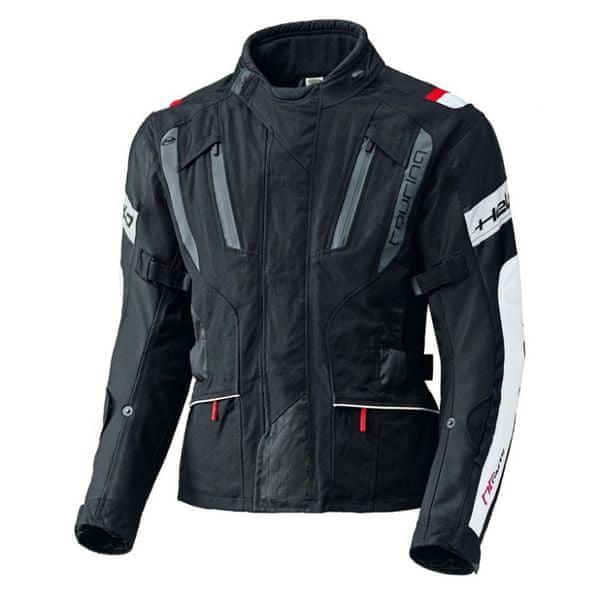 Held pánská bunda 4-TOURING vel.XXL černá/bílá, textilní REISSA