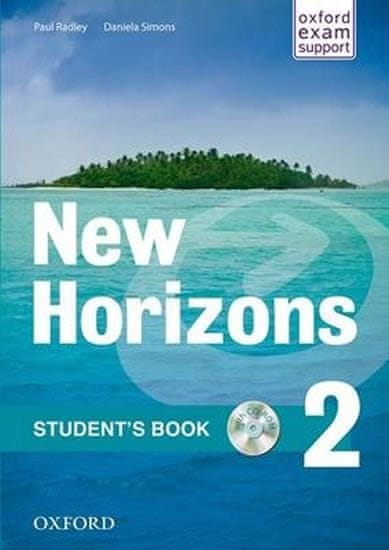 Radley Paul: New Horizons 2 Students´s Book with CD pack