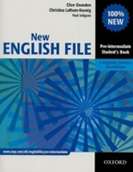 Oxenden Clive: New English File Pre-Intermediate Student´s Book CZ