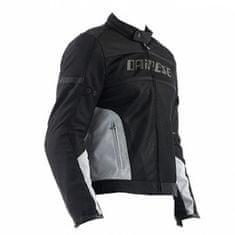Dainese pánská motocyklová bunda  AIR-FRAME TEX černá/šedá textilní