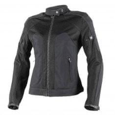 Dainese dámská motocyklová bunda  AIR-FRAME TEX LADY černá/černá textilní