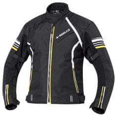 Held pánská motocyklová bunda  YAMOTO černá/fluo žlutá, Reissa