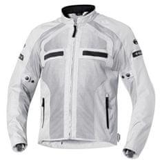 Held dámská moto bunda  TROPIC 2 světle šedá, textilní