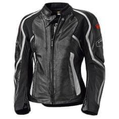 Held dámská kožená bunda na motorku  NAMIKO černá/bílá