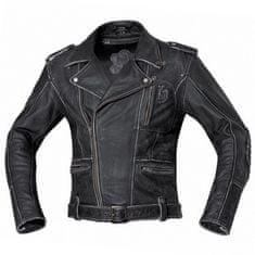 Held pánská motocyklová bunda  HOT ROAD černá, kůže