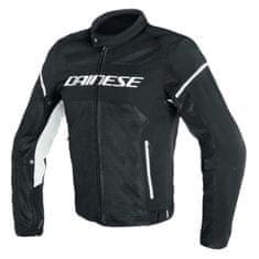 Dainese pánská motocyklová bunda  AIR-FRAME D1 TEX černá/bílá