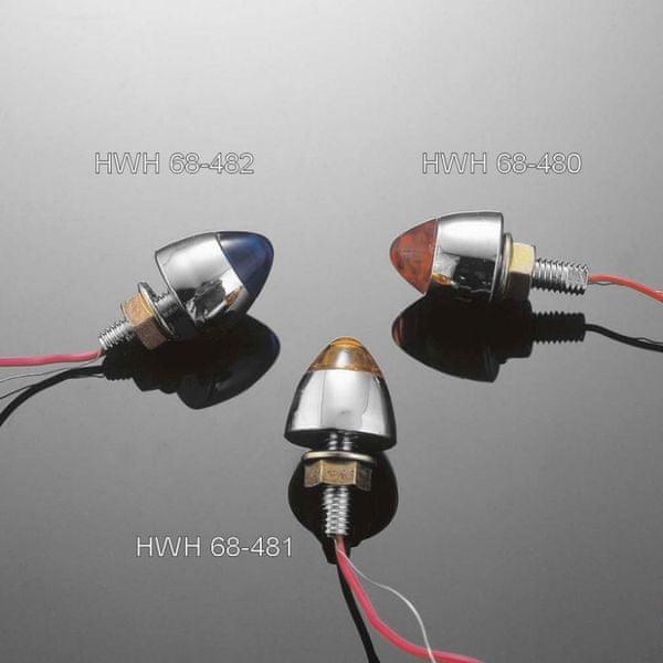 Highway-Hawk svítící šroub STARCAP s LED, oranžový (1ks)