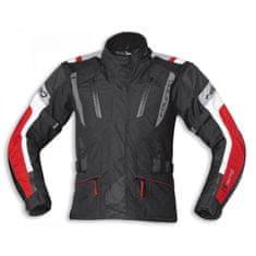 Held dámská moto bunda  4-TOURING Reissa černá/červená