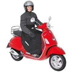 Held nepremokavá pláštenka/deka  na scooter, čierna, textil