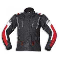 Held pánská moto bunda  4-TOURING Reissa černá/červená