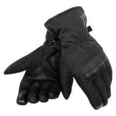 Dainese rukavice na skúter  ALLEY D-DRY UNISEX čierne, textilné