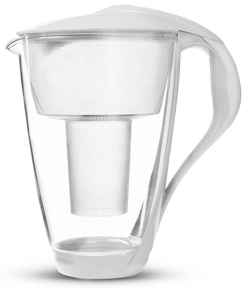 DAFI Crystal classic filtrační konvice 2 l, bílá - rozbaleno