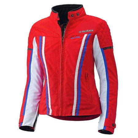 Held detská dievčenské motocyklová bunda  JILL červená/modrá/biela, Reissa