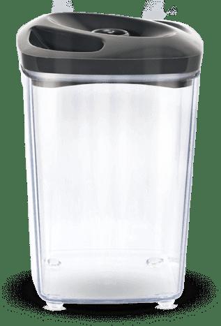 DAFI Dóza vakuová 1,3l antracitová