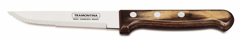 Tramontina Příbor steakový sada 8 ks tmavé dřevo