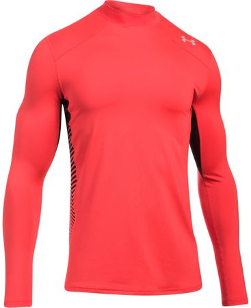 Under Armour CG Reactor Fitted LS Marathon Red Anthracite White M