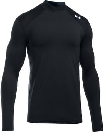 Under Armour CG Reactor Fitted LS Black Stealth Gray White M