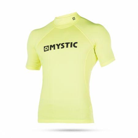 Mystic kopalna majica Lycra Star SS - 650, Lime, XL