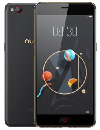 nubia N2, 4 GB / 64 GB, Dual SIM, černá/zlatá