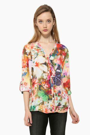 Desigual ženska bluza Sol L večbarvna