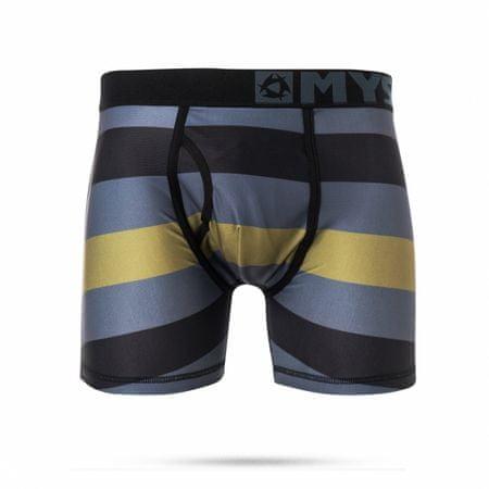 Mystic moške spodnje hlače Quickdry Boxershort 900, črne, M
