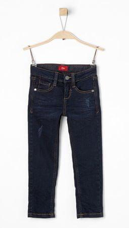 s.Oliver fantovske slim hlače, modre, 98