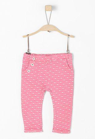 s.Oliver lány nadrág 62 rózsaszín