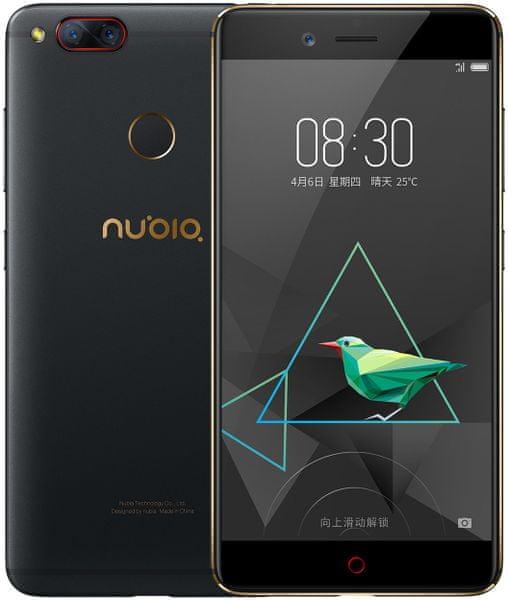 nubia Z17 mini, 4GB/64GB, Dual SIM, černo/zlatá